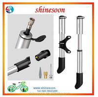 aluminum high quality mini bike pump accessories tyre inflator