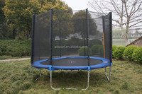 10ft big trampoline with safety net