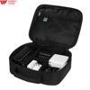 Nylon Travel Electronics Organizer with Adjustable Compartments