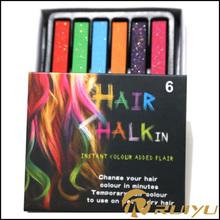 Nuevo producto de la venta caliente para el cabello brillo de color de tinte/pelo tiza de color