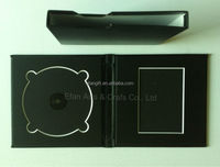 factory price leather wedding CD &DVD holder