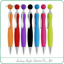 2015 for exhibition promotion simply designed click plastic pens