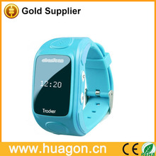 Personal locator smart watch gps tracker for kids and children SOS panic button support gsm listening and free map tracking