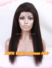 Hot Indian Virign Kinky Straight Lace Front Wig 2015 Wholesale Indian Kinky Hair Wig Price
