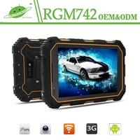2015 new 7inch IPS ROM 16G Back camera 8.0MP Battery 7000mah android 4.4 GPS GSM 3G WCDMA NFC waterproof cheap rugged tablet pc