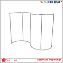 cost effecitive simple clothing store free standing, clothes standing, clothes rack