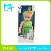 2015 New !Eco-friendly PVC Collection 16 Inch tinker bell princess Barbie Doll