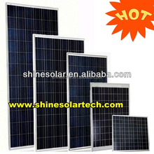 photovoltaic solar panel with poly 156*156mm best solar cells
