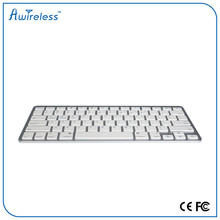 super thin slim wireless keyboard OEM cheaper bluetooth keyboard with 7#AAA battery