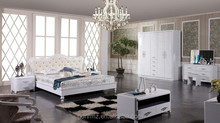 610 king size bedroom furniture in Alibaba white color Foshan city 2015