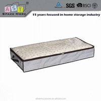 High quality Portable Under bed zipper mattress storage bag / quilt bag with handles