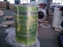 slitting aluminum polished coil with pvc protector film for luminary ( test reflectivity 92%)