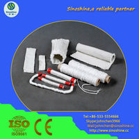 heat preservation ceramic fiber textile products(cloth tape rope yarn and sleeve