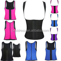 Walson ann chery body shapers hot shaper neoprene belt pants latex rubber waist shaper corset