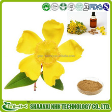 Made in china organic and natural 0.3% hypericins extract powder / hypericins