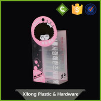 elegant top quality 100% good feedback pvc clear packing box Manufacturer