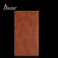 Book style leather case for mobile phone phone case wallet