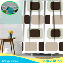 JUST LIKE CHOCOLATE BISCUIT WC CURTAIN SHOWER CURTAIN