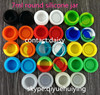 7ml silicone jars dab wax containers, silicon container house , butane hash oil silicone container
