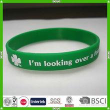 silicon basketball bracelets
