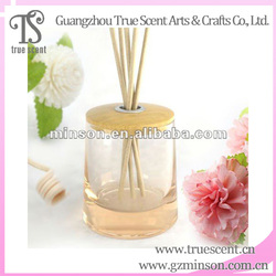 Sell Online OEM Glass bottle wood cover 30Ml Reed Diffuser