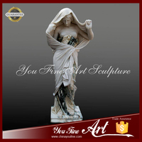 Carving Marble Figure Nude Woman Statue