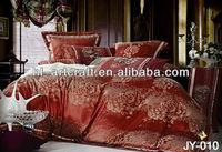 100% Cotton Jarquard Printing Design Low Price Bedsheets JY-010