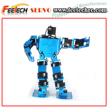 hot selling child toy 6 DOF 17 DOF humanoid education walking robot
