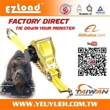 [EZ LOAD] 50mm Automatic Ratchet Tie Down Strap Buckles Wholesale