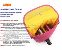 2014 New Design Waterproof Camera Bag Digital Camera Bag Cute Canvas Camera Bag