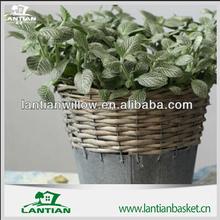 Exquisite willow garden basket/ Fashionable wicker handmade easter garden decoration from manufacturer