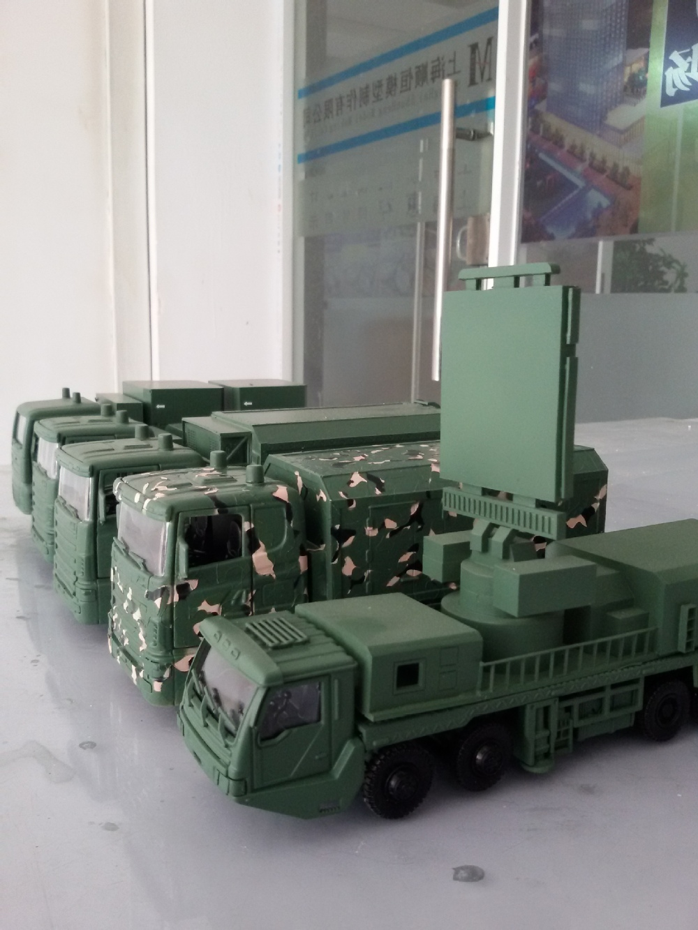 Architectural model making materials 1 50 model humvees for Waste material model making