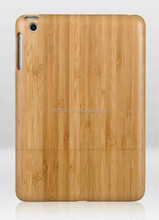 real natural wood case for ipad mini