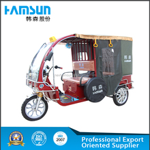 2015 New Three Wheeler Tuk Tuk Bajaj Auto Rickshaw Tricycle Electric Bicycle for sale