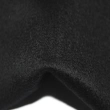 Wholesale Woman Black 100% Cashmere Coat Fabric