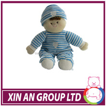 2014 wholesale safety small baby dolls cute one year baby toy