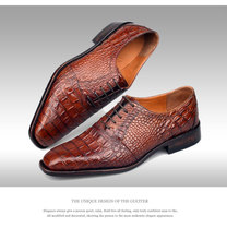 Pure manual Occupation Men's shoes manually change color