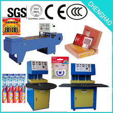 High Performance Blister Pack Sealing Machine with special security protection, customize molds is approved