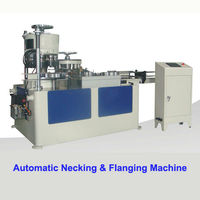 Automatic Necking And Flanging Machine for Aerosol Can /Spray Can Packaging Line