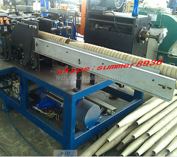 spinning mill with yarn winding bobbin paper cone machine for textile