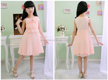 2015 Wholesale High Quality New Design fashion boutique girl birthday dress for girl of 7 years old