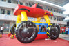 monster car inflatable moonwalk, inflatable kid bouncer