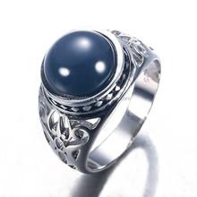 jewelry china, big black main stone men ring