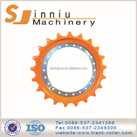 2015 New low price black or orange chain and sprocket wheel
