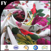 Factory reliable quality custom digital printing on cotton poplin
