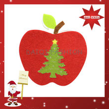 Newest Fashion Christmas Decoration,Christmas Hanging Apple Decoration ,Wholesale Cheap Christmas Decorations