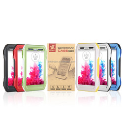 RIYO-G3 Waterproof Shockproof Snowproof Cover Case IP68 for Android cell smart phone/mobile/LG G3 D850 D851 D855 VS985 LS990