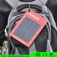 Latest Energy Efficient 1000mah Solar Tablet Charger For Various Mobile Phone