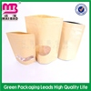 100% recyclable material paper kraft valve bag