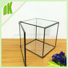 Trade Assurance supplier flower vase **** Various sizes, custom size accepted indoor geometric aluminum trumpet vase